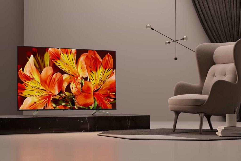 TV 4K Sony KD-75XF8596