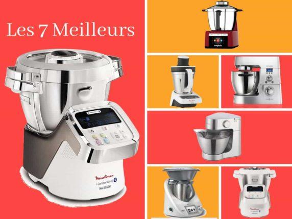 Les 7 meilleurs robots cuiseurs multifonction