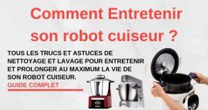 Guide entretien robot cuiseur