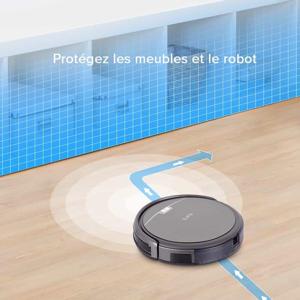 ILIFE A4s aspirateur robot rechargeable