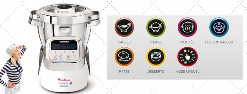 modes et types de cuisson