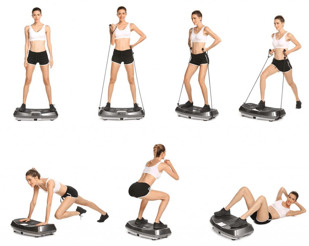 exercices pour maigrir avec plateforme vibrante