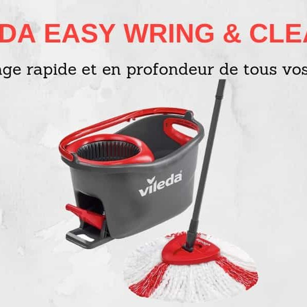 Avis balai Vileda Easy Wring et Clean Turbo