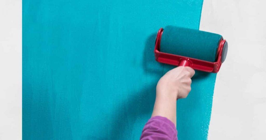 peinture turquoise