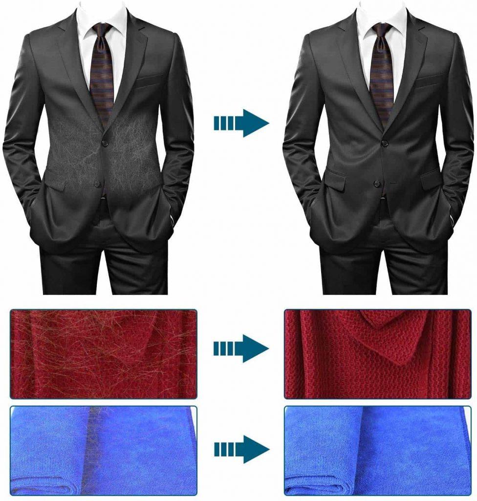 brosse Anti-poils pour costume