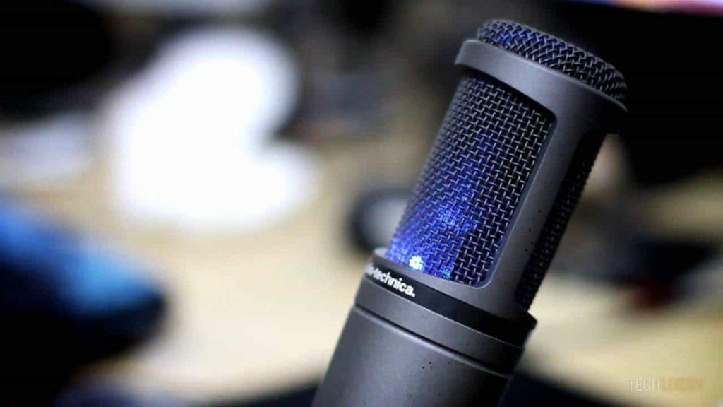 avis micro Audio Technica AT2020USB