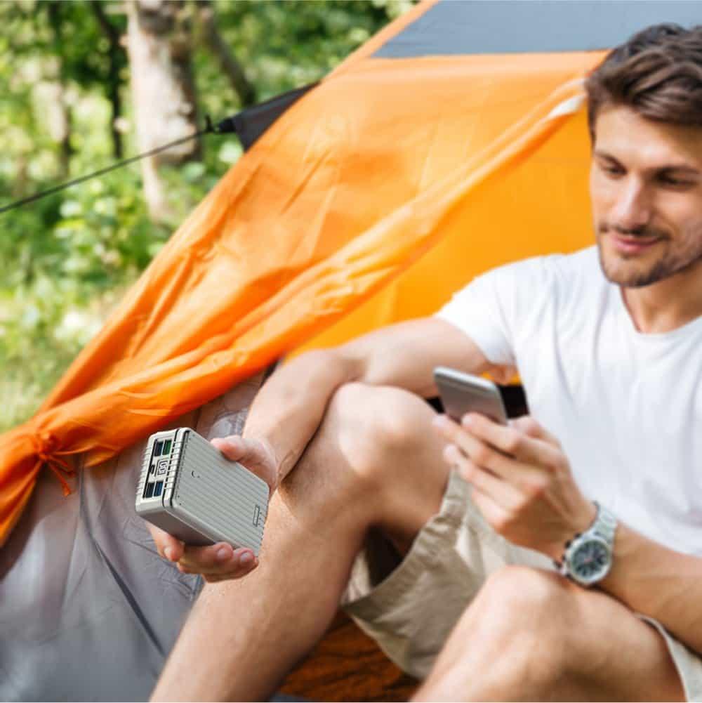 Batterie Externe pour camping