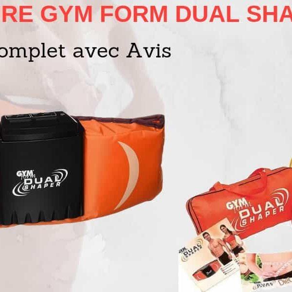 Ceinture dual shaper gymform