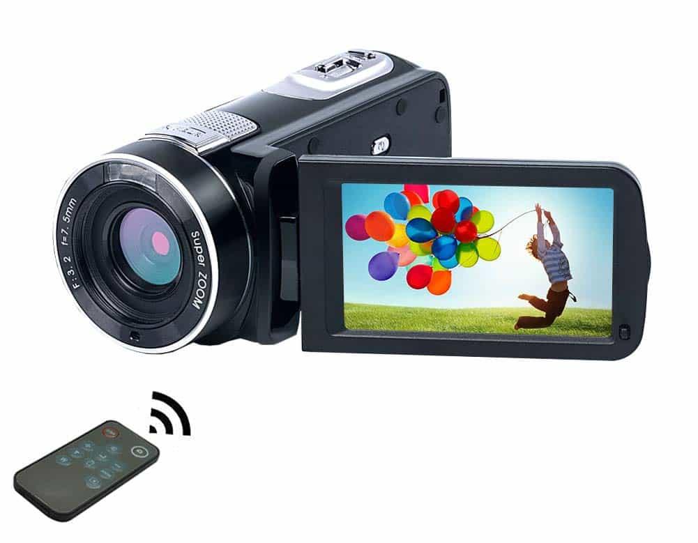 Caméscope 1080P 24.0MP