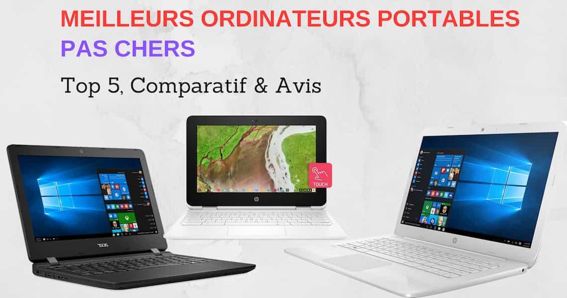 Comparatif PC portable pas cher