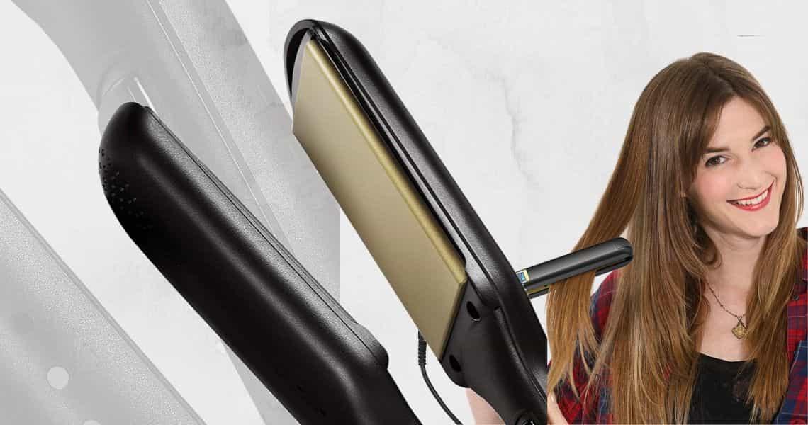 lisser les cheveux avec GHD