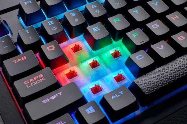 changement touches clavier gameur