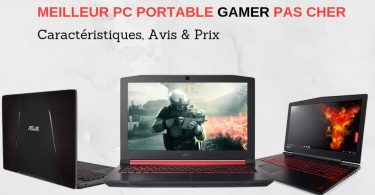 comparatif Meilleur PC portable gamer