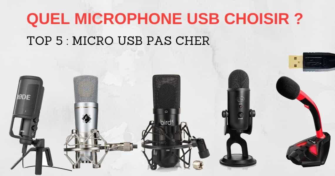 meilleur Microphone USB