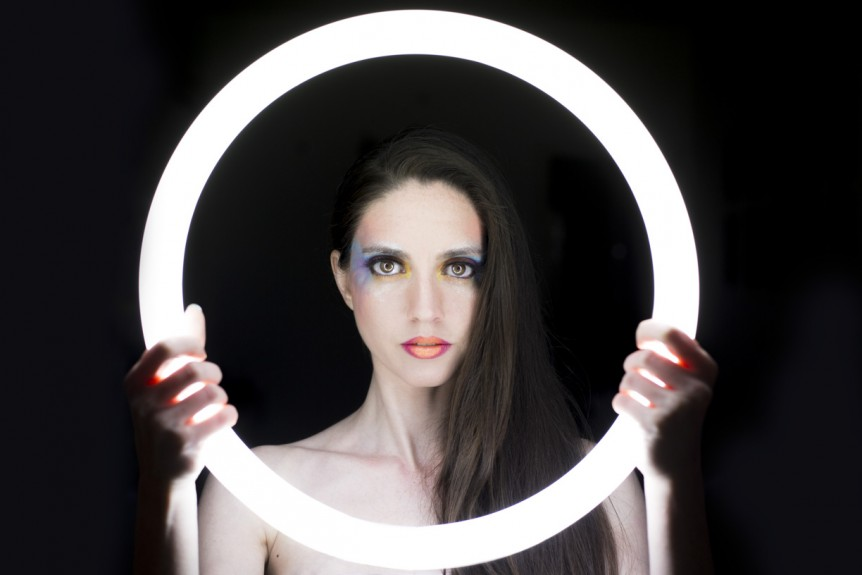 ring light lumière pour filmer