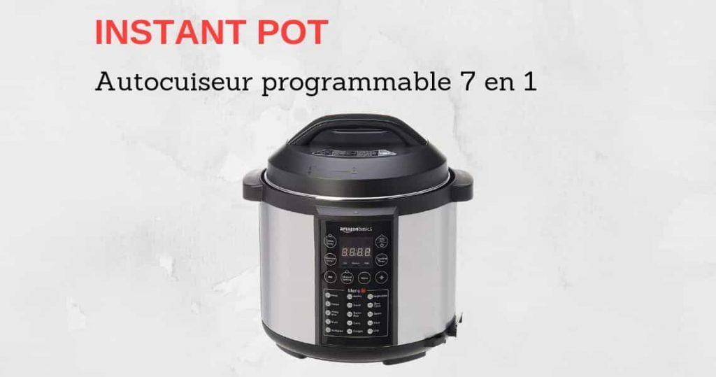 Autocuiseur Instant Pot Avis Test