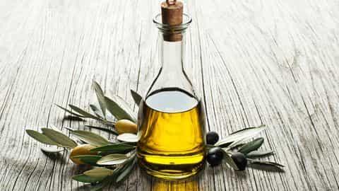 masque à l'huile d'olive pour cheveux