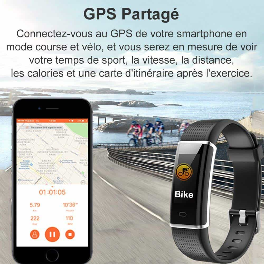 Montre connectée Willful IP 68