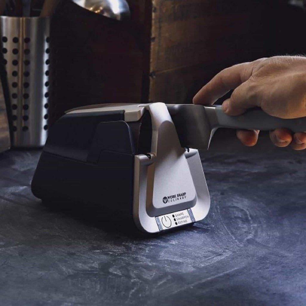 Affûteur de couteaux de cuisine électrique