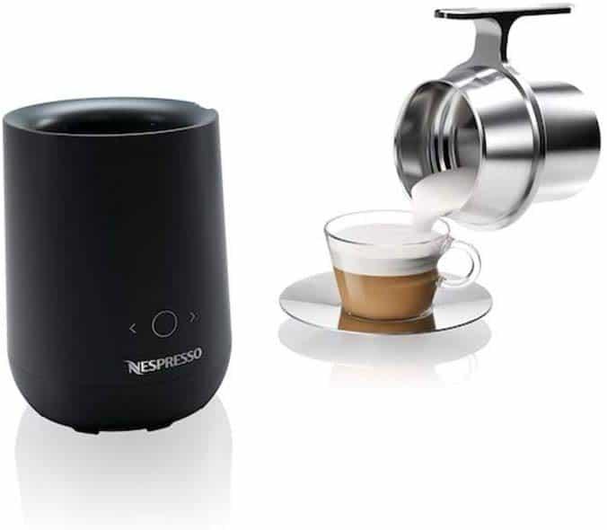 Machine à café Nespresso Barista Mousseur à lait