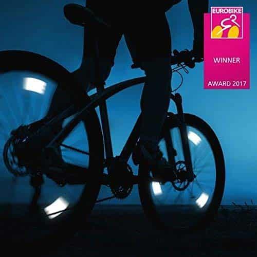 Flectr Roue de vélo reflecteurs