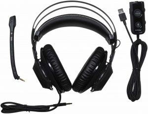 Ecouteur de jeu vidéo Dolby Surround 7.1