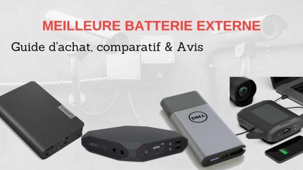 Meilleure batterie externe power bank pour téléphone et PC