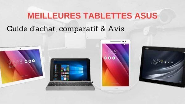 Comparatif meilleures tablettes Asus