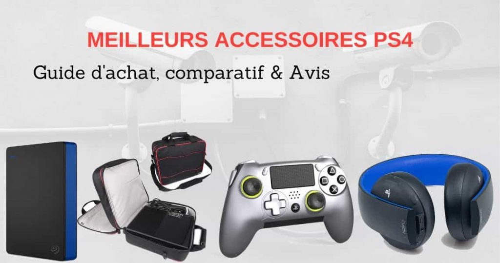 accessoire gamer ps4