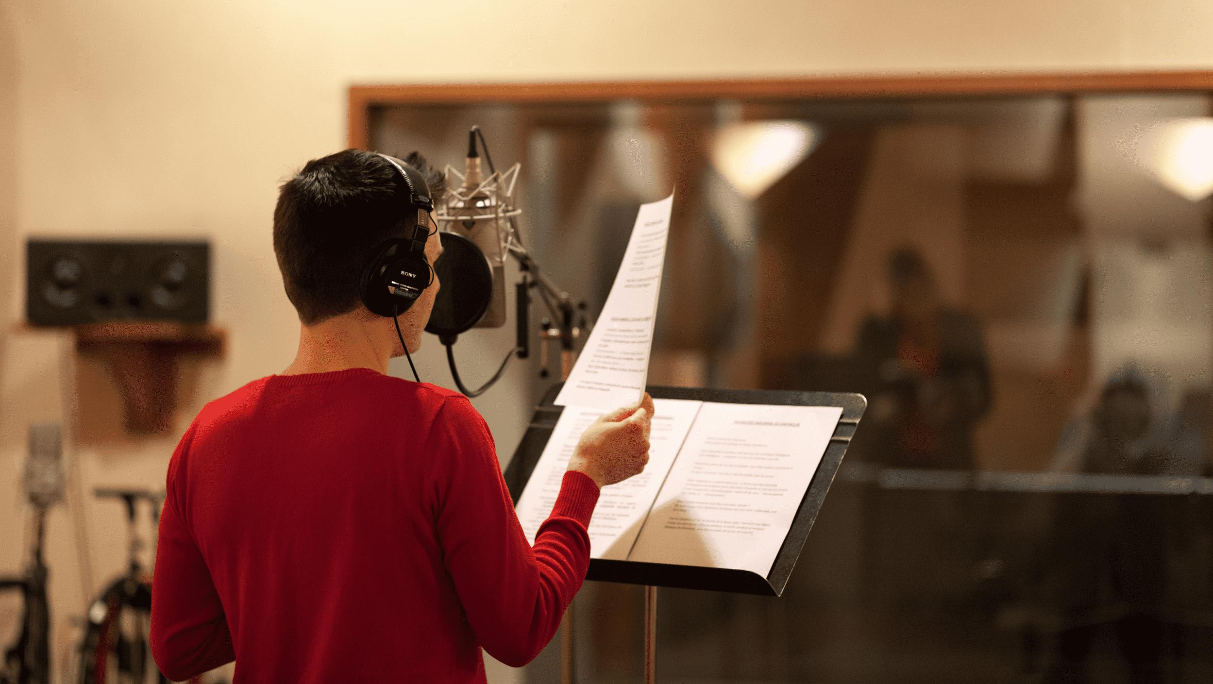 guide d'achat microphone pour la voix off