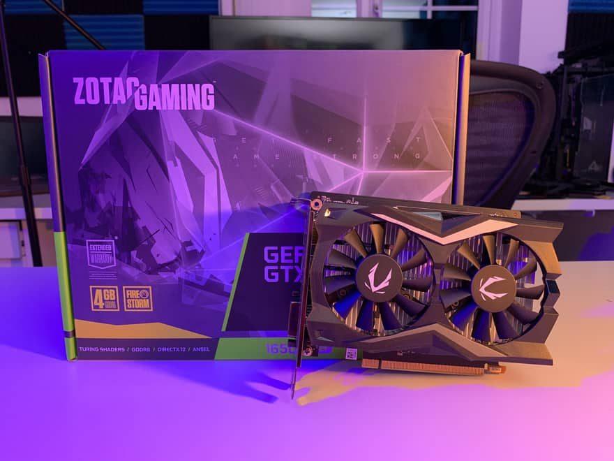 Zotac GeForce GTX 1650 Super Twin Fan 4 Go