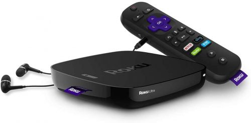 Box Android tv Roku Ultra
