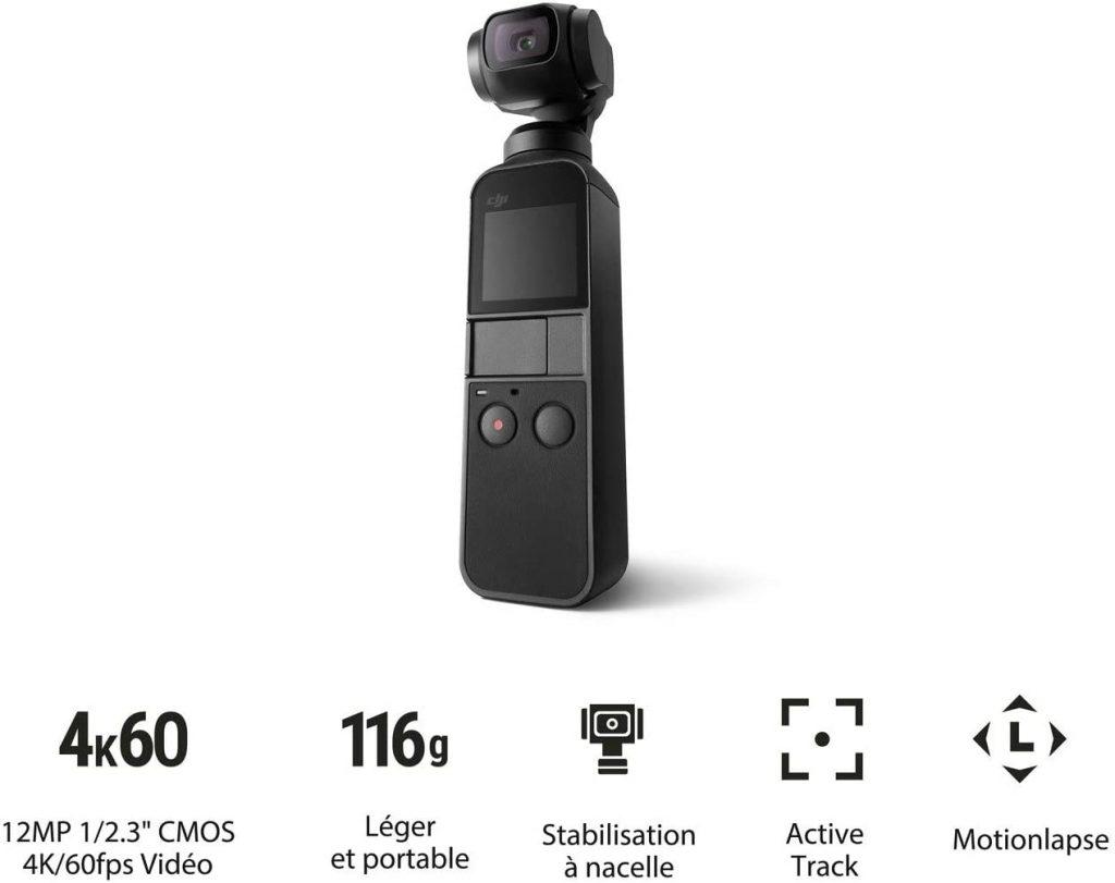 DJI Osmo Pocket caméra d'action