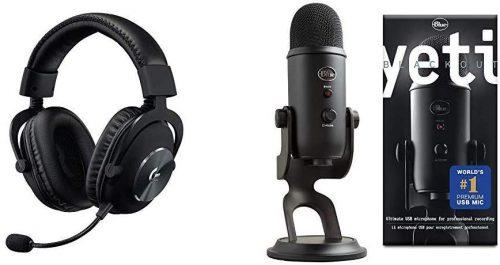 Logitech Pro X & Blue Voice