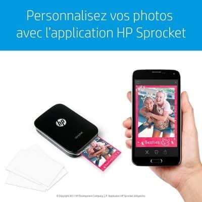HP Sprocket test