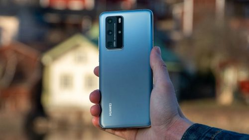 Huawei P50 Pro smartphone futuriste